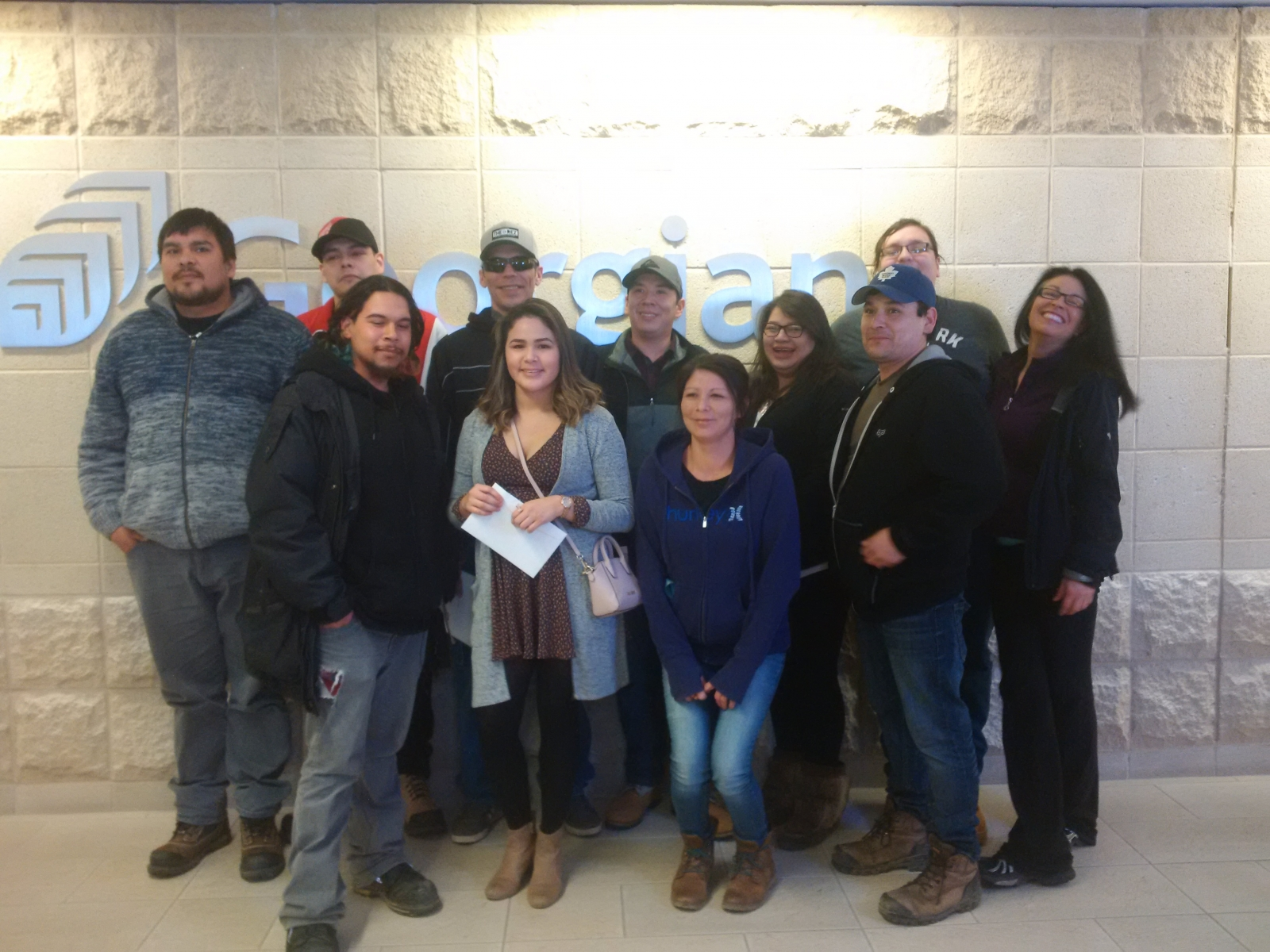 Aboriginal People Skills Ready Project including  partnerships with Georgian College and Bruce Power.